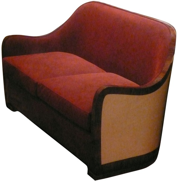 Collection l o dossier arrondi can 37a2 dpg canap 2 places - Fauteuil deux places ...